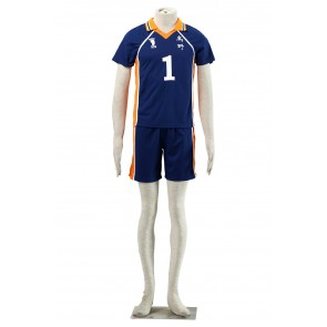 Haikyuu!! Daichi Sawamura Karasuna High School NO. 1 Sports Uniform Cosplay Costume