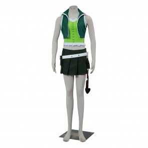 Fairy Tail Lucy Green Outfit Cosplay Costume