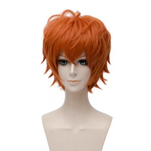 Orange 30cm Mystic Messenger 707 Cosplay Wig