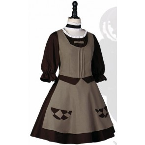 Magical Girl Raising Project Maho Shojo Ikusei Keikaku Hardgore Alice Ako Hatoda Maid Cosplay Costume