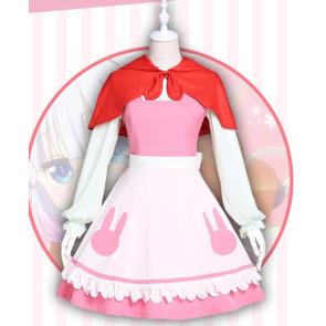 Miss Kobayashi's Dragon Maid Kanna Kamui Kanna Kobayashi Little Match Girl Cosplay Costume
