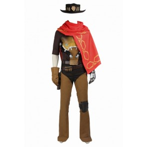 Overwatch McCree Cosplay Costume