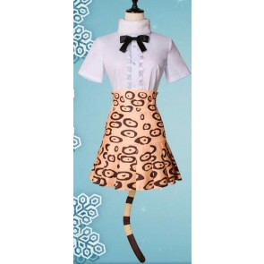 Kemono Friends Jaguar Cosplay Costume