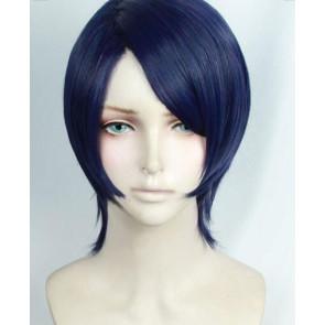 Blue 30cm Persona 5 Yusuke Kitagawa Cosplay Wig