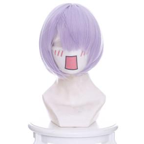 Purple 30cm My Girlfriend is Shobitch Akiho Kosaka Cosplay Wig