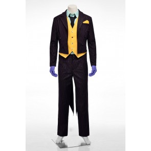 Batman: Arkham City The Joker Cosplay Costume