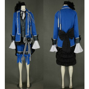 Kuroshitsuji Black Butler Ciel Phantomhive Knight Unifrom Cosplay Costume