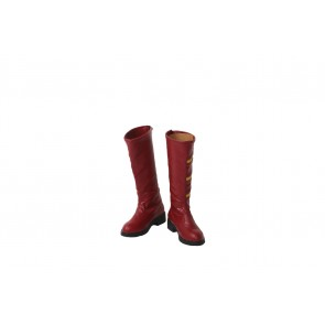 The Flash Season Ⅲ Jesse Quick Cosplay Boots