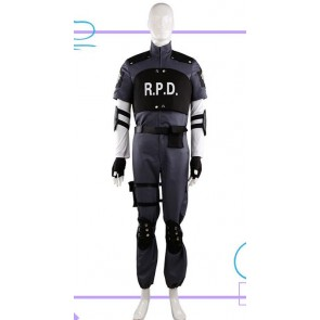 Resident Evil 4 Leon Scott Kennedy RPD Uniform Cosplay Costume