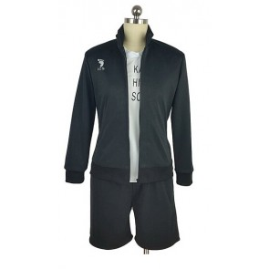 Haikyuu!! Tobio Kageyama Karasuno High School Sports Uniform Cosplay Costume