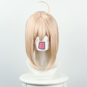 Light Yellow 40cm Fate/Grand Order Saber Cosplay Wig