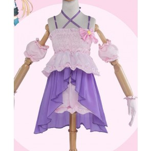 The Idolmaster Anzu Futaba Suit Cosplay Costume