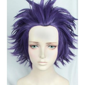 Purple 30cm My Hero Academia Hitoshi Shinso Cosplay Wig