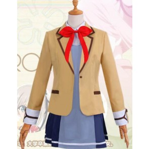 Luck & Logic Girl's School Uniform Cosplay Costume