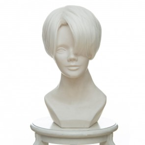 White 30cm Land of the Lustrous Cairngorm Cosplay Wig