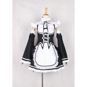 Re:ZERO -Starting Life in Another World Rem Ram Maid Cosplay Costume