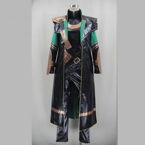 Deluxe Thor: The Dark World Loki Loptr Cosplay Costume