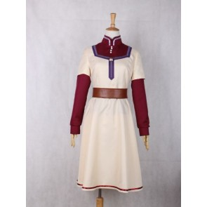 Snow White with the Red Hair Akagami no Shirayukihime Shirayuki Cosplay Costume