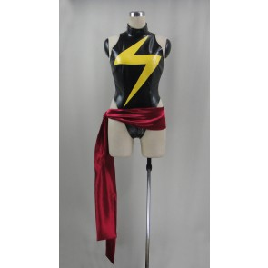 Marvel Avengers Alliance: Ms. Marvel Jumpsuit Cosplay Costume