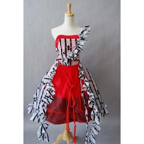 Alice In Wonderland Alice Red Court Dress Cosplay Costume