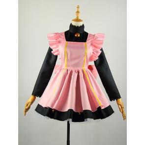CardCaptor Sakura Sakura Kinomoto Maid Cosplay Costume