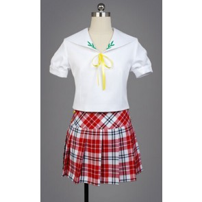 "The ""Hentai"" Prince and the Stony Cat. HenNeko Tsukiko Tsutsukakushi School Uniform Cosplay Costume"