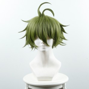 Green 35cm Danganronpa V3: Killing Harmony Rantaro Amami Cosplay Wig
