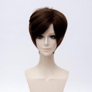 Brown 30cm Mystic Messenger Jaehee Kang Cosplay Wig
