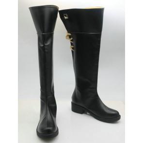 Final Fantasy XIV Miqo'te Black Cosplay Boots