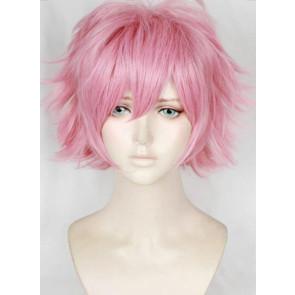 Pink 30cm My Hero Academia Katsuki Mina Ashido Pinky Cosplay Wig