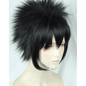 Black 30cm My Hero Academia Dabi Cosplay Wig