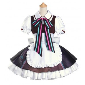 Vocaloid Kaito Cafe Maid Cosplay Costume