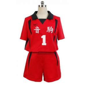 Haikyuu!! Tetsuro Kuro Nekoma High School Sports Uniform Cosplay Costume