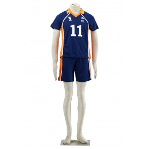 Haikyuu!! Kei Tsukishima Karasuna High School NO. 11 Sports Uniform Cosplay Costume