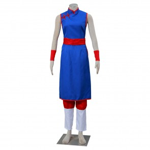 Dragon Ball Z Chichi Cosplay Costume - Version 3