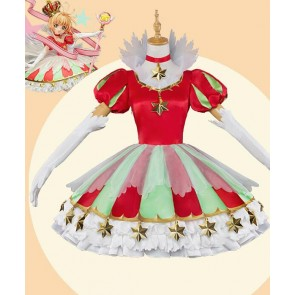 Cardcaptor Sakura 20th Anniversary Sakura Kinomoto Cosplay Costume Version 5