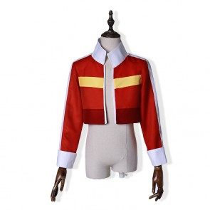 Voltron: Legendary Defender Keith Red Coat Cosplay Costume