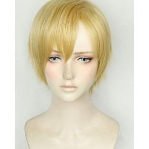 Gold 30cm My Hero Academia Katsuki Neito Monoma Phantom Thief Cosplay Wig