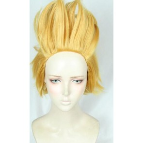 Yellow 35cm My Hero Academia Young Present Mic Cosplay Wig