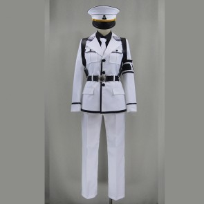 Aoharu x Machinegun Nagamasa Midori Cosplay Costume