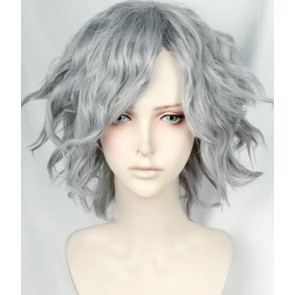 Silver 35cm Fate/Grand Order Avenger Monte Cristo: Edmond Dantes Cosplay Wig