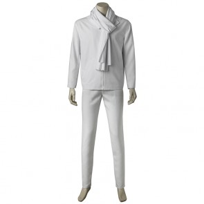 Despicable Me 3 Gru White Suit Cosplay Costume