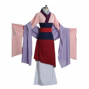 Mulan Cosplay Costume