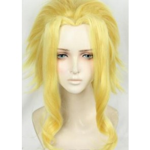 Yellow 35cm My Hero Academia Toshinori Yagi All Might Cosplay Wig