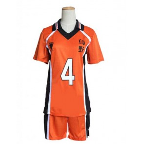 Haikyuu!! Yu Nishinoya Karasuno High School Sports Uniform Cosplay Costume