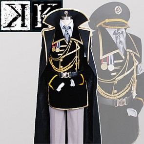 K: Missing Kings Yashiro Isana Military Uniform Cosplay Costume