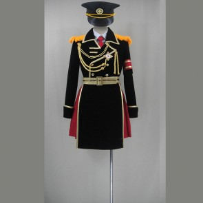 K Project Anna Kushina Military Uniform Cosplay Costume