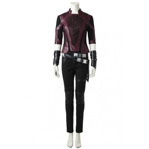 Guardians of the Galaxy Vol. 2 Gamora Short Suit Cosplay Costume