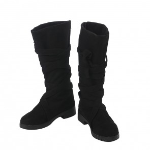Game of Thrones Season 7 Daenerys Targaryen Black Cosplay Boots