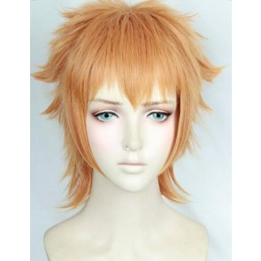 Orange 35cm Welcome to the Ballroom Gaju AkagiCosplay Wig
